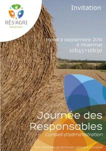 Invitation Journée des Responsables 2014